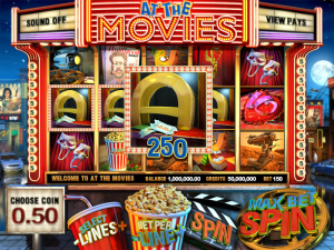 At the movies | Spillemaskiner på nett gratis bonus